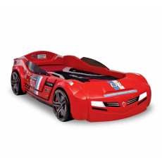 Pat masina Cilek Champion Racer Biturbo, 90 x 195 cm