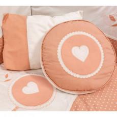 Lenjerie de pat pentru copii Cilek Romantic baby 80x130 cm