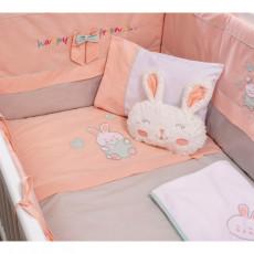 Lenjerie de pat pentru copii Cilek Happy Bedding 75 x 115 cm