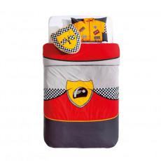 Lenjerie de pat pentru copii Cilek Bispeed cu perne decorative