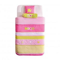 Lenjerie de pat pentru copii Cilek Love 90 x 100 cm cu pernă decorativă