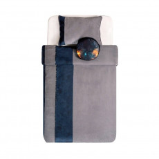 Lenjerie de pat pentru copii Cilek Dark 100 cm cu pernă decorativă