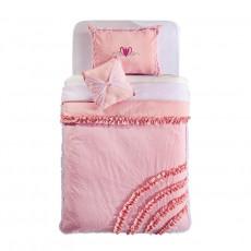 Lenjerie de pat pentru copii Cilek Rosa 120-140 cm cu pernă decorativă