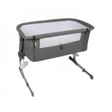 Кроватка-люлька KinderKraft Uno KKLUNOGRY00000, 52 x 83 cm