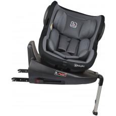 Scaun auto BabyGo ISO 360 IsoFix, Black
