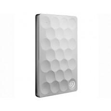 "2,5"" Hard Disk (HDD) extern 1.0 TB Seagate Backup Plus Ultra Silm Portable, Platinum (USB 3.0) (STEH1000200)"
