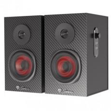 Sistem audio 2.0 Genesis Helium 200, 20 W, Black