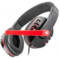 Căști Genesis HM12X, Black/Red