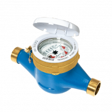 Contor apă Rece B METERS GMDM-I 3/4'', set montare inclus