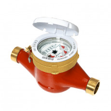 Contor apă Calda B METERS GMDM-I 1 1/4', set montare inclus