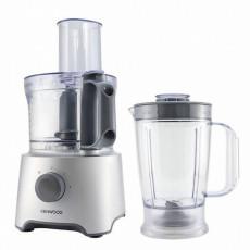 Кухонный комбайн Kenwood FDP302SI, White/Silver