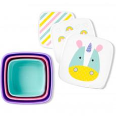 Set pentru pranz Skip Hop Zoo Unicorn 3 cutii