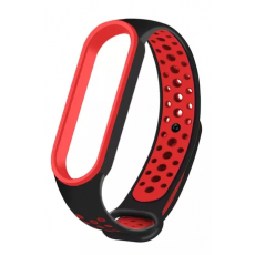 Curelușă Xiaomi Mi Band 5, Black/Red