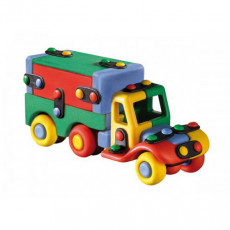 """Mic-O-Mic 089.177 Constructor din plastic """"Camion cu remorcă"""""""