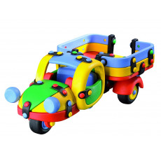 "Mic-O-Mic 089.024 Constructor din plastic ""Camion cu 3 roti"""