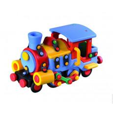 Mic-O-Mic 089.027 Constructor din plastic  «Locomotiva mare»