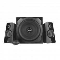 Sistem audio 2.1 Trust Tytan, 120 W, Black