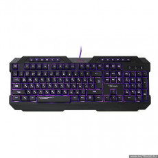 Tastatură Qumo Fallen II Black, USB