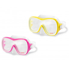 Mască pentru înot Intex 55978, Yellow
