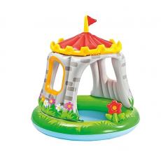Piscină pentru copii Intex Royal Castle Baby 57122, 122 x 122 cm, 45 L