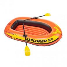 Barca gonflabila cu vasle Intex 58332