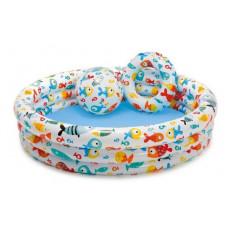 Piscină pentru copii Intex Fishbowl 59469, 132 x 28 cm, 220 L