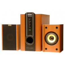 Sistem audio 2.1 Sven SPS-820, 38 W, Wooden