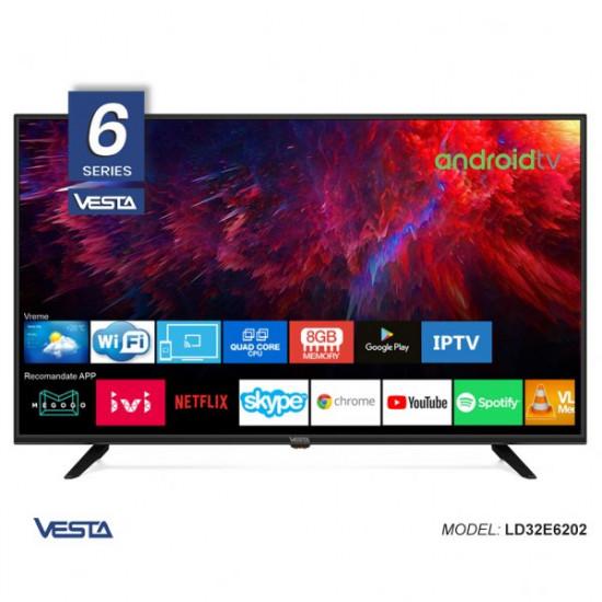 """Televizor LED 32 """" Vesta LD32E6202, Black"""
