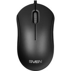 Mouse Sven RX-60, Black, USB