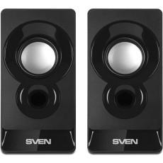 Boxe 2.0 Sven 300, 6 W, Black
