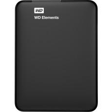 """2,5"""" Hard Disk (HDD) extern 1.0 TB Western Digital Elements Portable, Black (USB 3.0) (WDBUZG0010BBK-WESN)"""