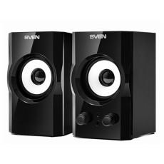 Boxe 2.0 Sven SPS-605, 6 W, Black