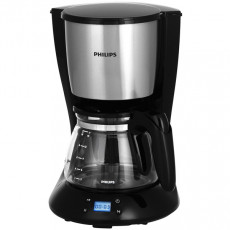 Cafetieră Philips HD7459/20, Black/Silver