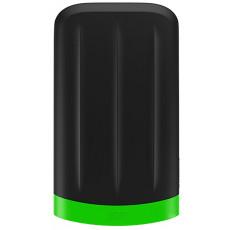 "2,5"" Hard Disk (HDD) extern 1.0 TB Silicon Power Armor A65M, Black/Green (USB 3.2 Gen 1) (SP010TBPHD65MS3G)"