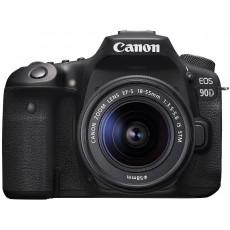 Aparat foto Canon EOS 90D, 18-55 IS STM