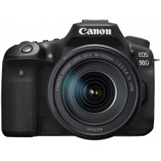 Aparat foto Canon EOS 90D, 18-135 IS nano USM