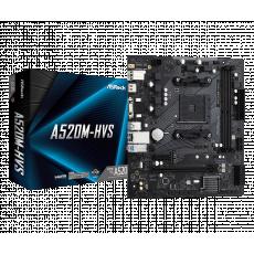 Placă de bază ASROCK A520M-HVS (AM4/AMD A520)