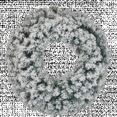 Coroană de Crăciun Snow, 60 cm