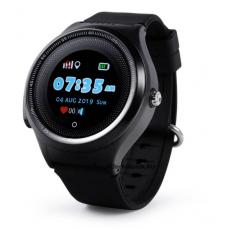 Ceas cu GPS pentru copii Wonlex KT06, Black