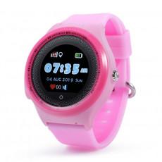 Ceas cu GPS pentru copii Wonlex KT06, Pink