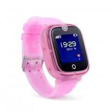 Ceas cu GPS pentru copii Wonlex KT07, Pink