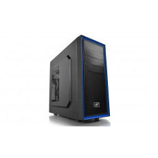 Carcasă Deepcool TESSERACT BF-BK, Black/Blue (ATX)