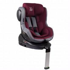Scaun auto BabyGo ISO 360 IsoFix, Red