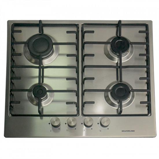 Plită încorporabilă Silverline AS5403X01, Silver