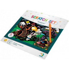 "Dodo Toys Puzzle DP300215 - SET DE GRAVURI ""DRAGONI"""