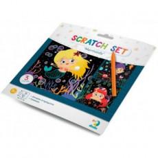 "Dodo Toys Puzzle DP300216 - SET DE GRAVURI ""SIRENE"""