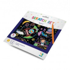 "Dodo Toys Puzzle DP300217 - SET DE GRAVURI ""SPATIU"""