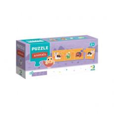 Dodo Toys Puzzle DP300269 - PUZZLE 4 ELEMENTE - ASOCIEM ANIMALUTELE