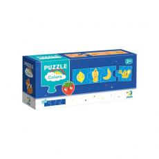 Dodo Toys Puzzle DP300273 - PUZZLE 4 ELEMENTE - ASOCIEM CULORILE
