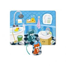 Dodo Toys Puzzle DP300276 - PUZZLE SORTER - CAMERA DE BAIE